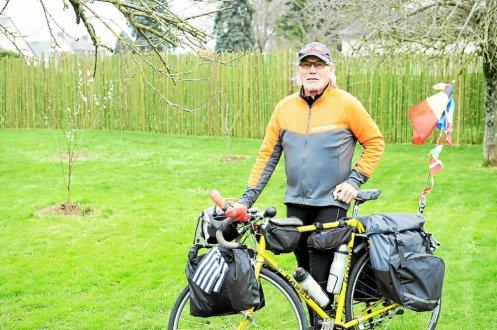 Féru de sport et de relations humaines, André Van Puymbroeck s'élancera, l'an prochain, pour un périple de plusieurs mois en Europe de l'Est.