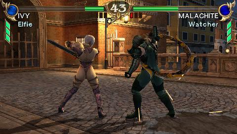 Soulcalibur combat
