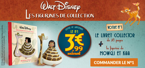 N° 1 Walt Disney figurines de collection - Lancement