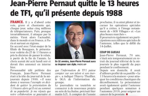 Jean-Pierre Pernaut, né le 8 avril 1950 à Amiens (Somme),
