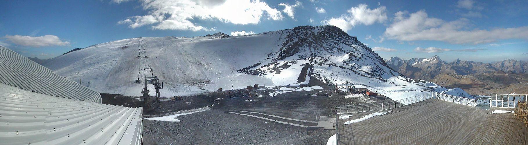 Deux Alpes front du glacier octobre 2012