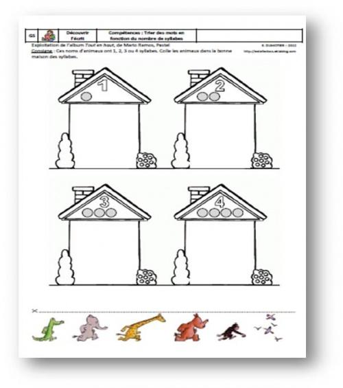 Tout en haut, Mario Ramos, Pastel, L'école des loisirs, 2005 - GS - Phonologie