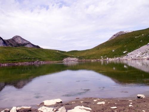 Le lac du Charvin