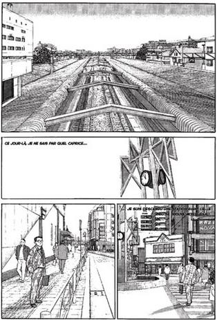 Jirō Taniguchi, L'Homme qui marche, 1992