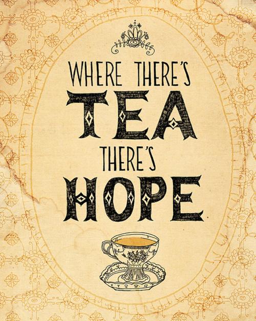 Le thé, c'est magique