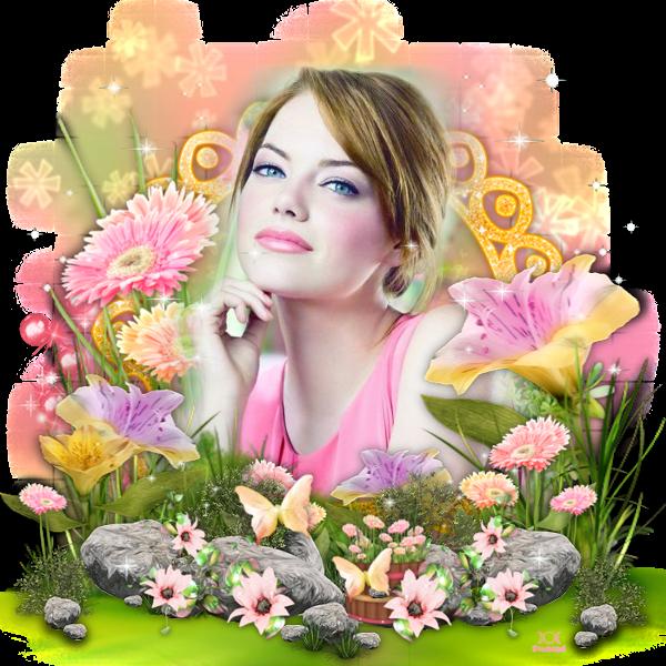 """Tutoriel """"Butterfly spring"""" de Chrisje traduit chez Delire2scrap"""