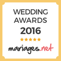 EnTractTour, gagnant Wedding Awards 2016 mariages.net
