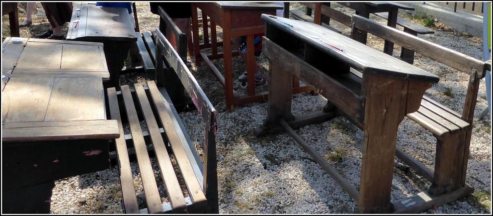 Fête des métiers d'antan, au moulin de Claira : suite et fin.