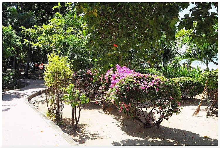 Plage de Pratamnak-Jomtien. Pattaya