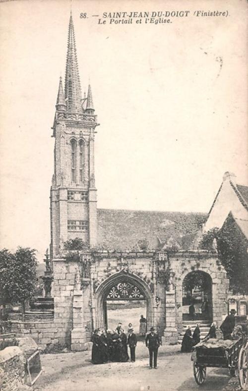 St-Jean-du-Doigt, Plougasnou, le Diben (29)