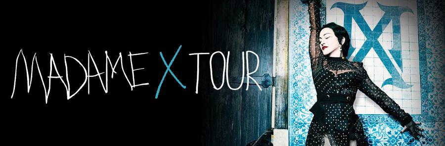 Madame X Tour Dates