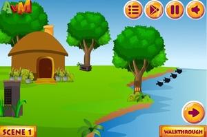 Jouer à AVM Viva forest house escape