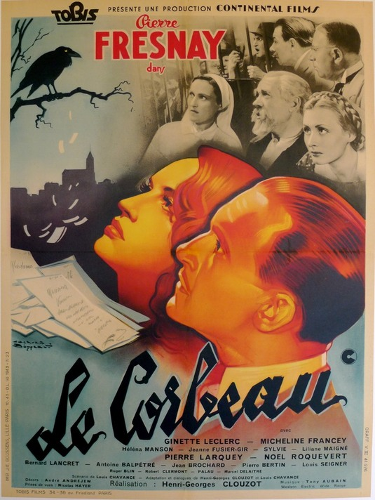 LE CORBEAU - GEORGES HENRI CLOUZOT BOX OFFICE