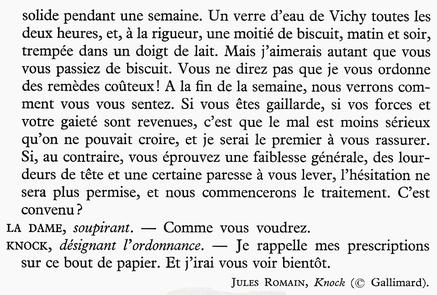 La consultation (Jules Romains)