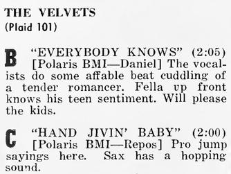 The Velvets (1)