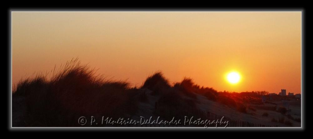 Coucher de soleil sur Carnon...