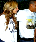 Photos: Beyoncé et Jay-Z hier soir à Los Angeles