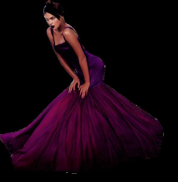 Femmes en Violet-Mauve Série 9