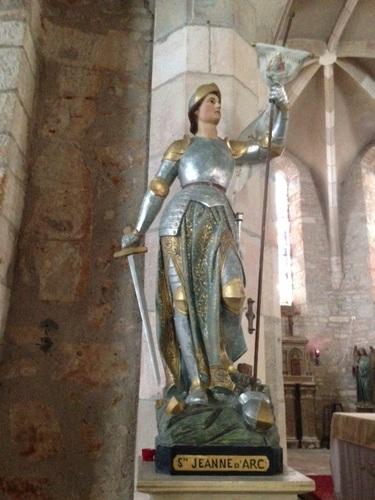 Jeanne d'Arc à Varaire