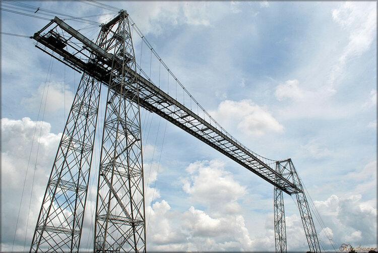 Photo du pont transbordeur de Rochefort (Charente maritime)