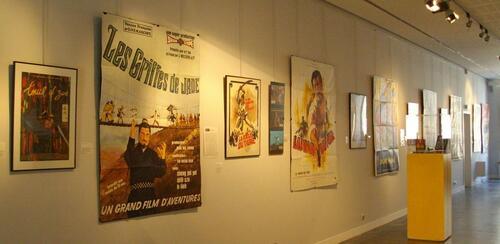 Sabres et Dragons, expo d'affiches
