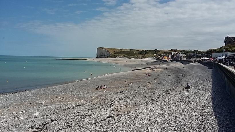 une virée en normandie - veulettes sur mer