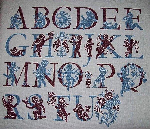 ABC Aux Anges - A à Motif Fleuri