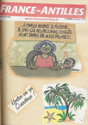 Carnet artistique de Guadeloupe