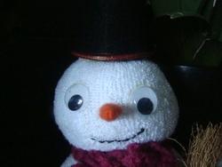 """c'est le moment """"mon bonhomme de neige"""""""