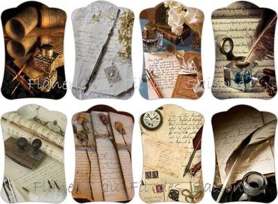 Ecriture ! cartonnettes