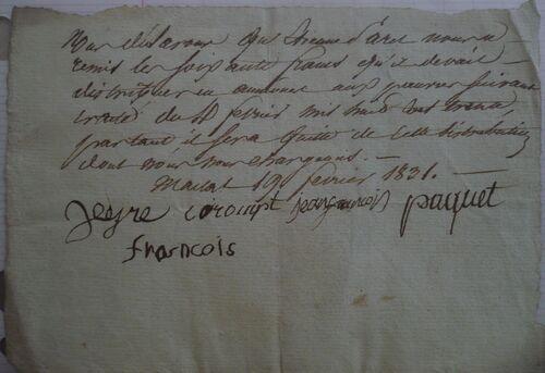 E. Paret- Aumone aux pauvres-1831
