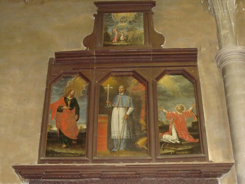 Visite de l'Eglise Saint Jean-Baptiste