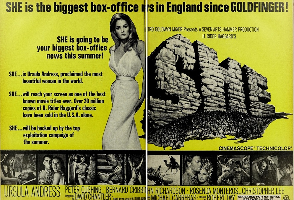 SHE BOX OFFICE USA 1965