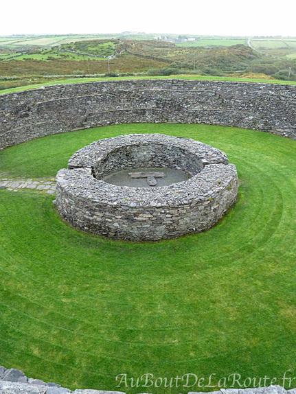 Batiment circulaire de Cahergal