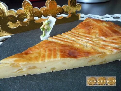 Galette des rois franc-comtoise aux pommes caramélisées