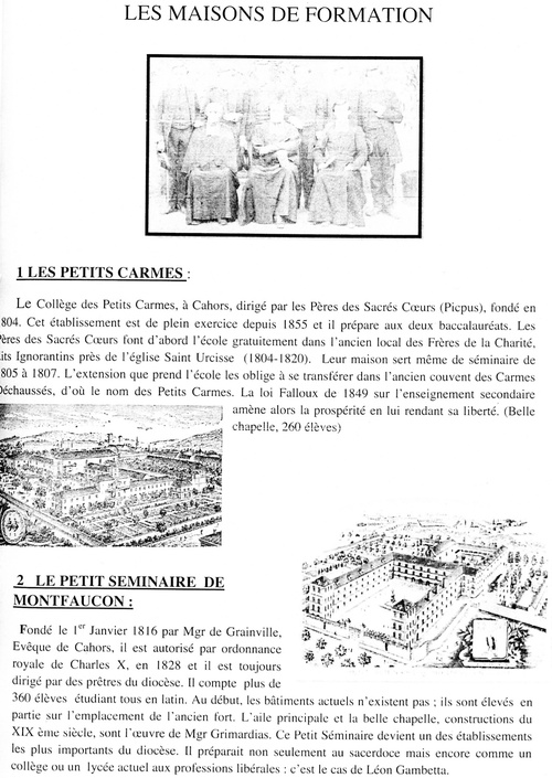 Quelques pages d'histoire