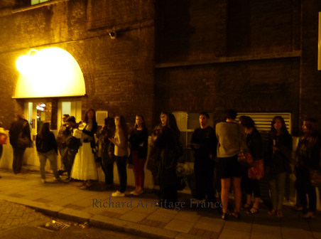 """""""The Crucible"""" : le Stage door Richard Armitage France"""