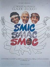 SMIC SMAC SMOC BOX OFFICE FRANCE 1971
