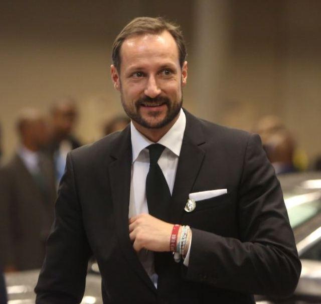 Haakon en Afrique du Sud