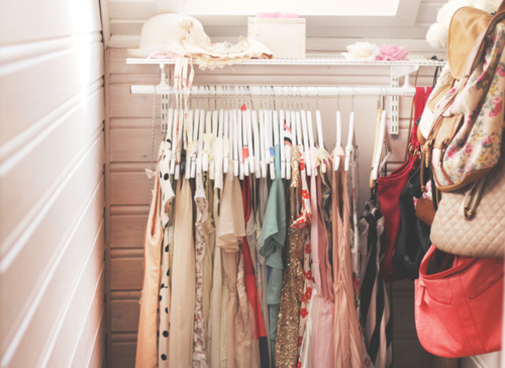 closet, clothes, dream, girl