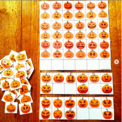 Discrimination visuelle Halloween