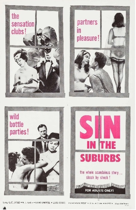 SIN IN THE SUBURBS BOX OFFICE USA 1965