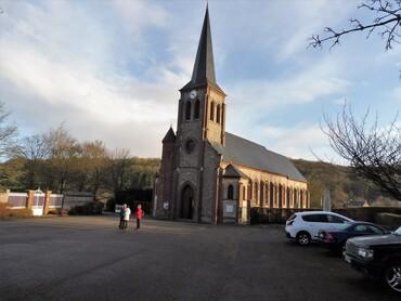 Auzouville-sur-Saâne - Eglise Saint-Denis (XIXe s.)