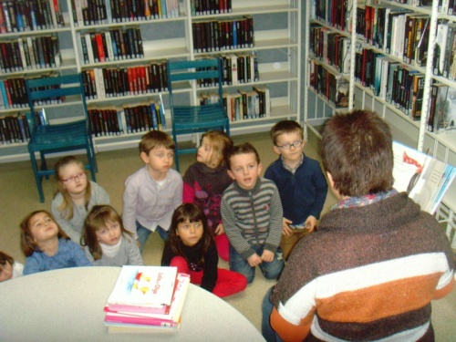 La bibliothèque d'Hersin