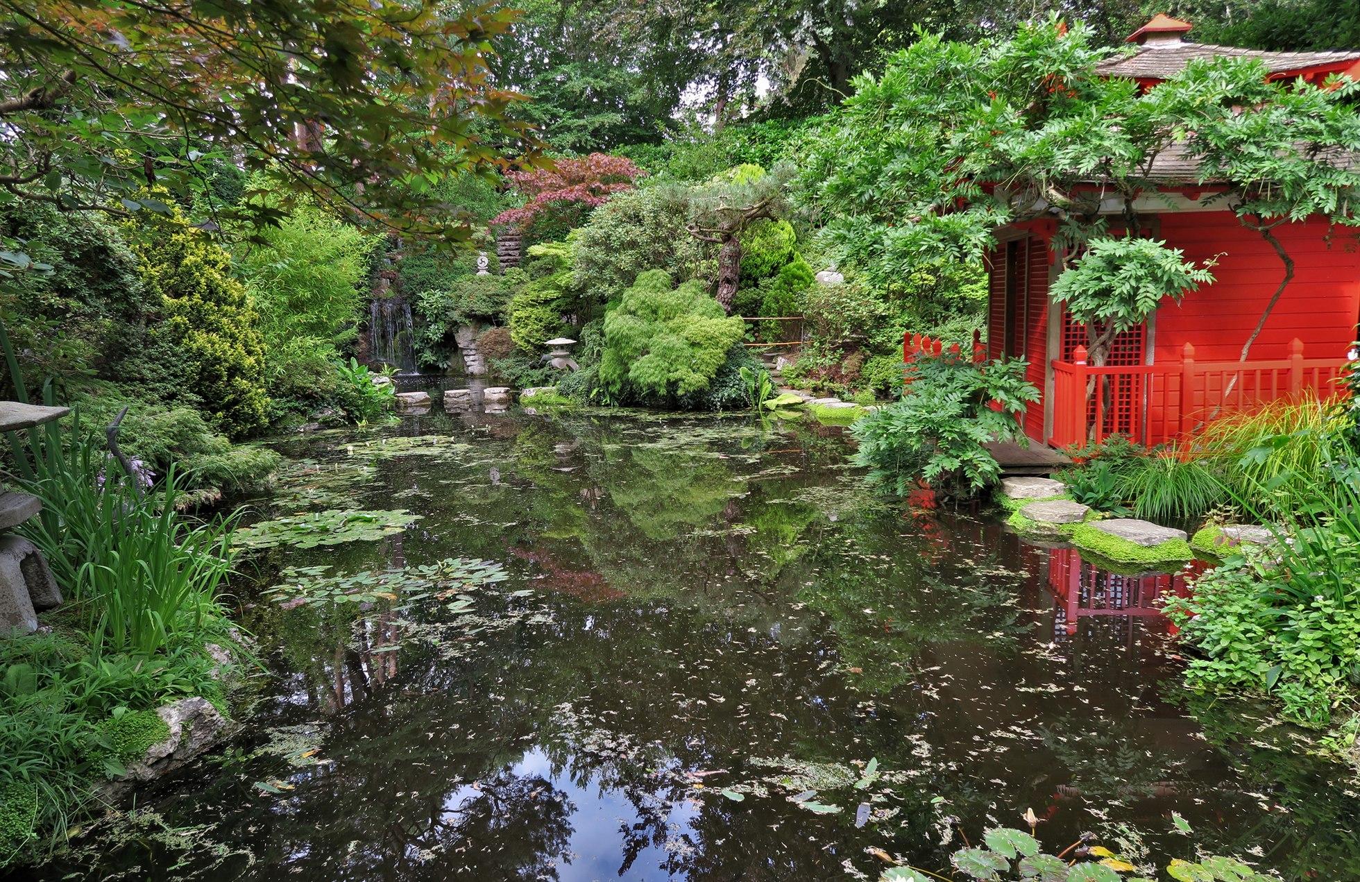 Compton Acres gardens : Le Jardin japonais