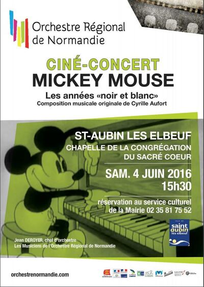 Mickey Mouse mis en musique par l'Orchestre régional de Basse-Normandie
