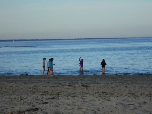 Soirée plage.