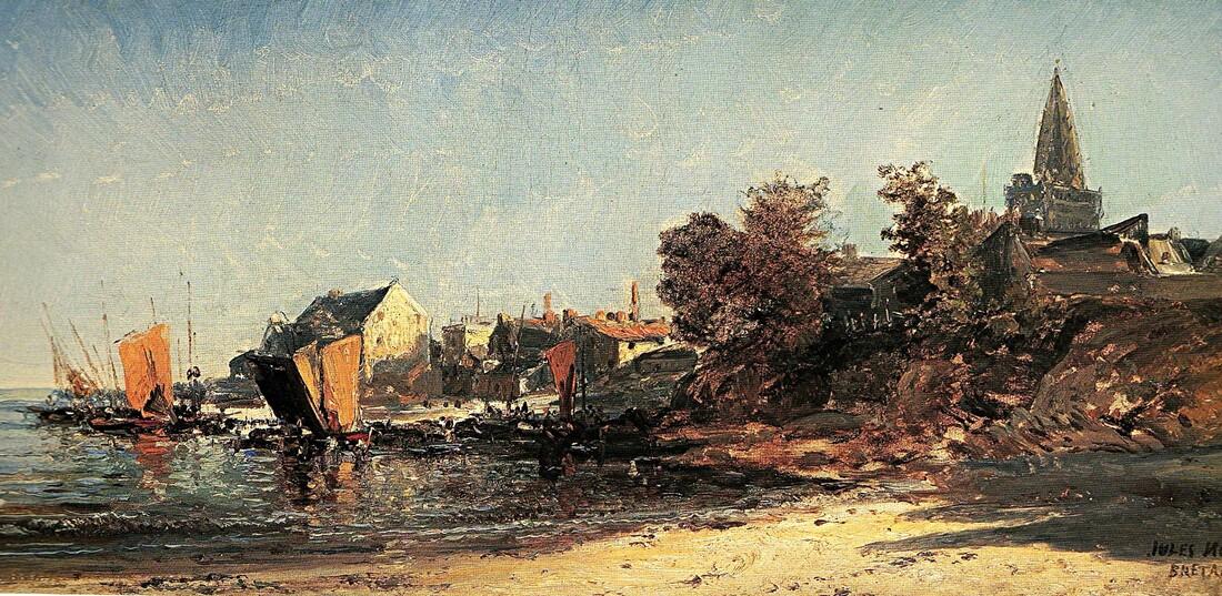 1-Lorient et sa rade  / 1/  Au 19ème siècle
