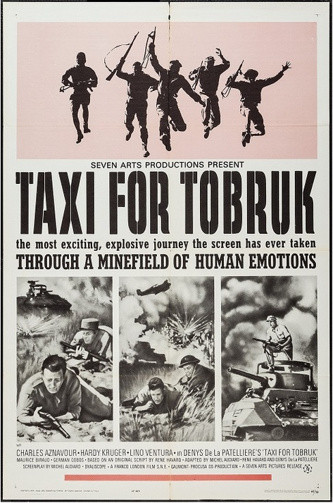 TAXI FOR TOBRUK BOX OFFICE USA 1965