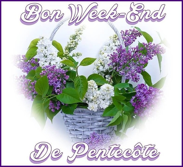 15377  Mai  2018 bon weekend de Pentecôte a tous